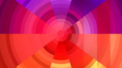 Stripes moving horizontal on radial gradient Stock Footage
