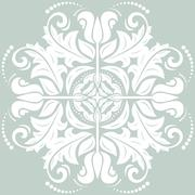 Floral Vector Pattern. Orient Abstract Background Stock Illustration