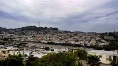 San Francisco Bernal Heights Stock Footage