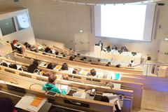 Stock Photo of Audience in the lecture hall.