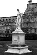 Statue of Diane by Louis Auguste Leveque - stock photo