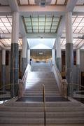 Staircase, Parliament House, Australia - stock photo