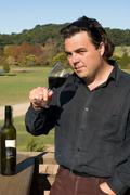 The Winemaker - stock photo
