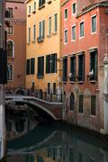 Canal Scene, Venice, Italy Stock Photos