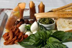 Antipasto Platter - stock photo