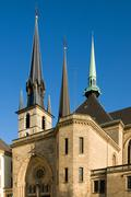 St Michael's Church, Luxembourg - stock photo