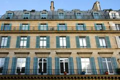 Parisian Architecture - stock photo