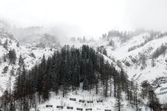 Alpine Scene, Italy - stock photo