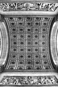 Arc de Triomphe Ceiling Stock Photos