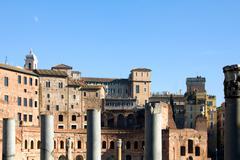 Foro di Traiano - stock photo