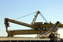 Stock Photo of Coal Loader