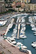 Monte Carlo Marina Stock Photos