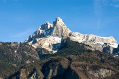 Alpine Scene, France Stock Photos
