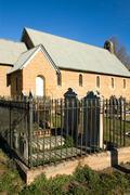 Churchyard - stock photo