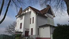 Villa Hoheneck Holtenau Kiel Germany Stock Footage