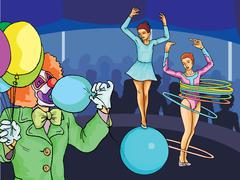 Circus Stock Illustration