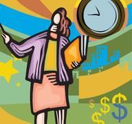 Stock Illustration of business