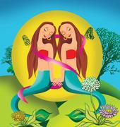 Astrology Stock Illustration