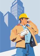 construction - stock illustration