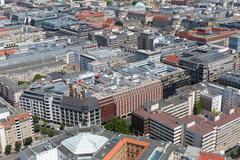 Aerial cityscape Berlin, Capital city of Germany Kuvituskuvat