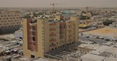 Wide Angle of Nouakchott, Mauritania (4K) Stock Footage