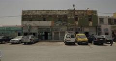 Street in Nouakchott, Mauritania (4K) Stock Footage
