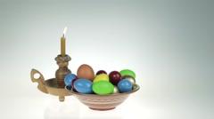 Easter still life. Stock Footage