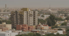 Convention Center in Nouakchott, Mauritania (4K) Stock Footage