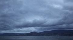 Kelowna Cloud timelapse Stock Footage