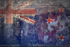 Stock Photo of Grunge flag