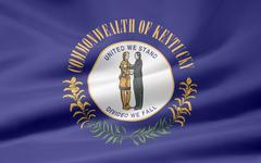 Flag of Kentucky - stock photo
