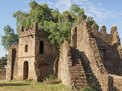 Gondar, Ethiopia, Africa - stock photo