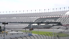 Florida Daytona Speedway Empty 08svKBv Stock Footage