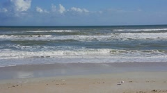 Florida CapeCanaveral SeashorePark Beach 09svv Stock Footage