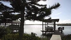 Florida NewSmyrna Beach River 01svv Stock Footage