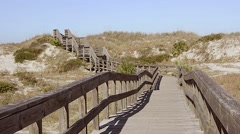 Florida NewSmyrna Beach Dunes 06svKBv Stock Footage