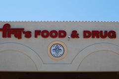 Fry's Food & Drug supermarket Stock Photos