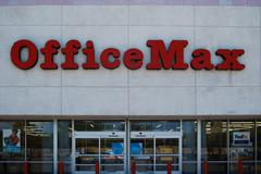 OfficeMax office supply chain Stock Photos