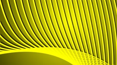 Glowing Vector Lines Yellow Abstract Background Stock Footage