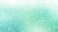 Gentle Christmas Morning Snow - seamless loop - stock footage