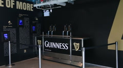 Excursion to the Guinness Storehouse Stock Footage