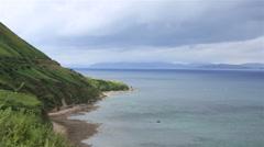 Beautiful scenery along the Atlantic Ocean Stock Footage