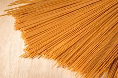 Wholewheat Spaghetti - stock photo
