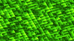 Abstract Green Background Blocks 4K - stock footage