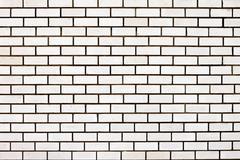 External white brick wall background Stock Photos