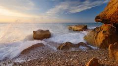 Beautiful seascape - stock footage