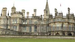 Burghley House, England. Stock Footage