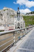 Stock Photo of Dinant in the Belgium Ardennes on River Meuse