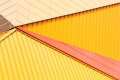 Detail of theater in Lelystad, the Netherlands Stock Photos