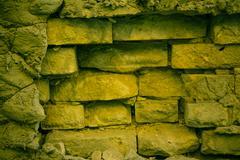Grungy brickwork - stock photo